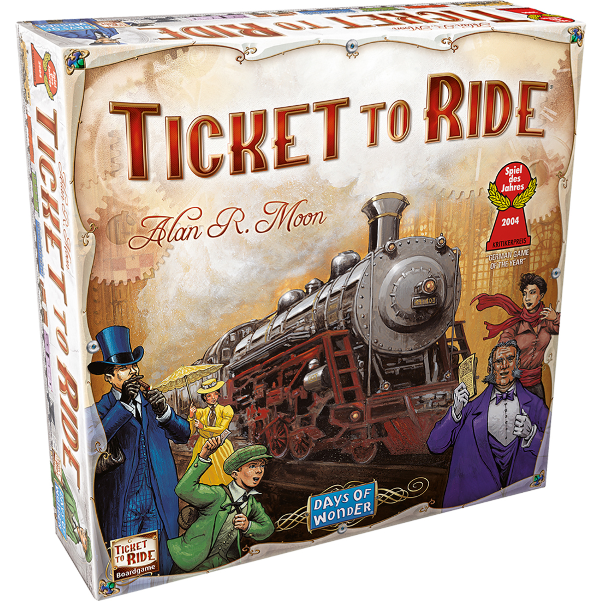 Joc de societate Ticket To Ride