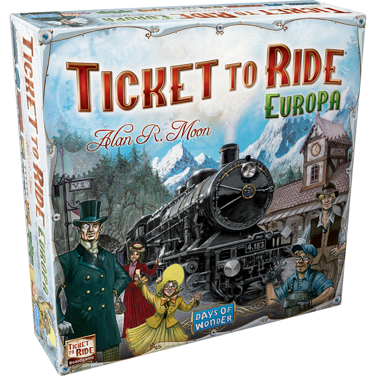 Joc de societate Ticket To Ride, Europa