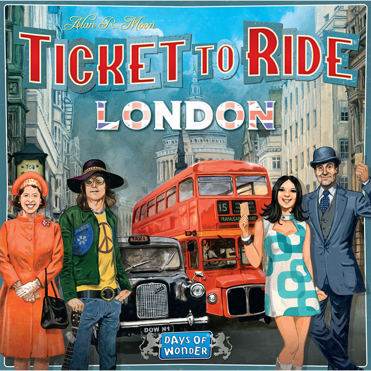 Joc de societate Ticket To Ride, Londra