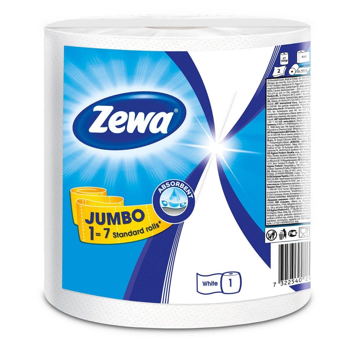 Monorola Zewa Jumbo Standard, 2 straturi, 325 foi imagine
