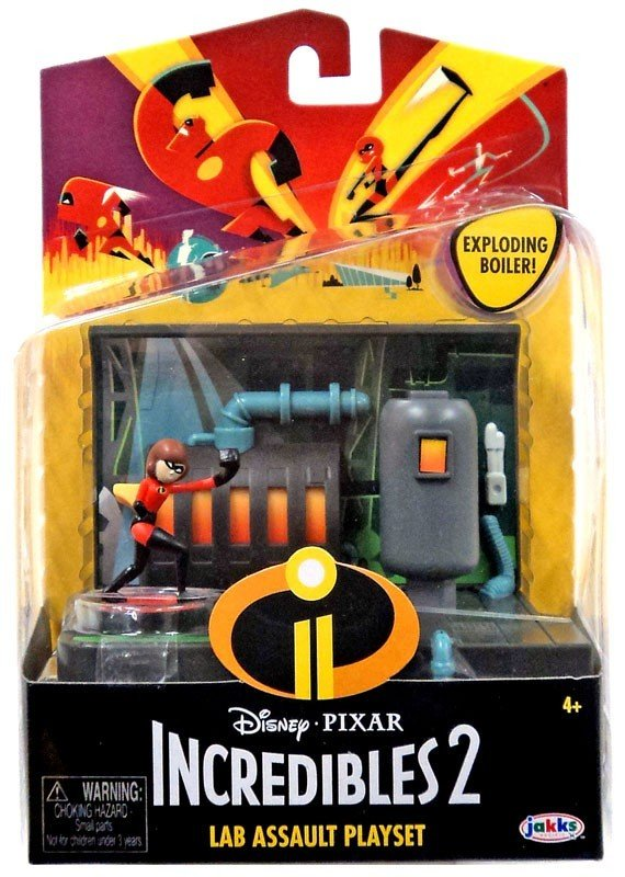 Set Incredibles - Laboratorul si Fata Elastica