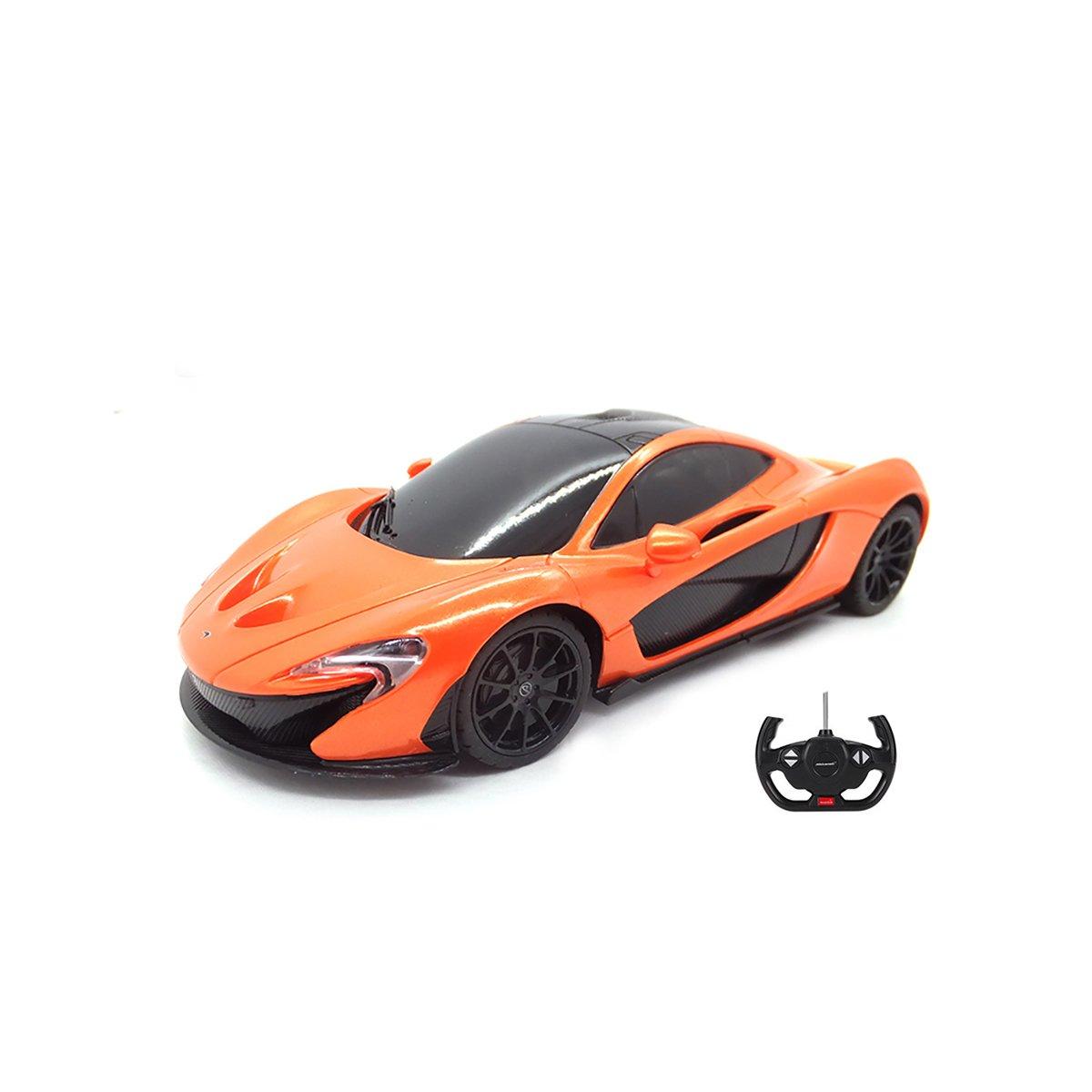 Masina cu telecomanda Rastar McLaren P1 RC, 1:24, Portocaliu