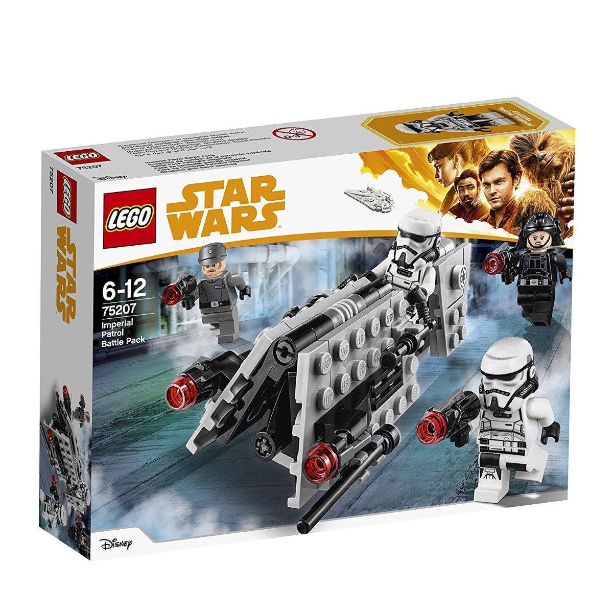 lego® star wars™ - pachet de lupta patrula imperiala (75207)