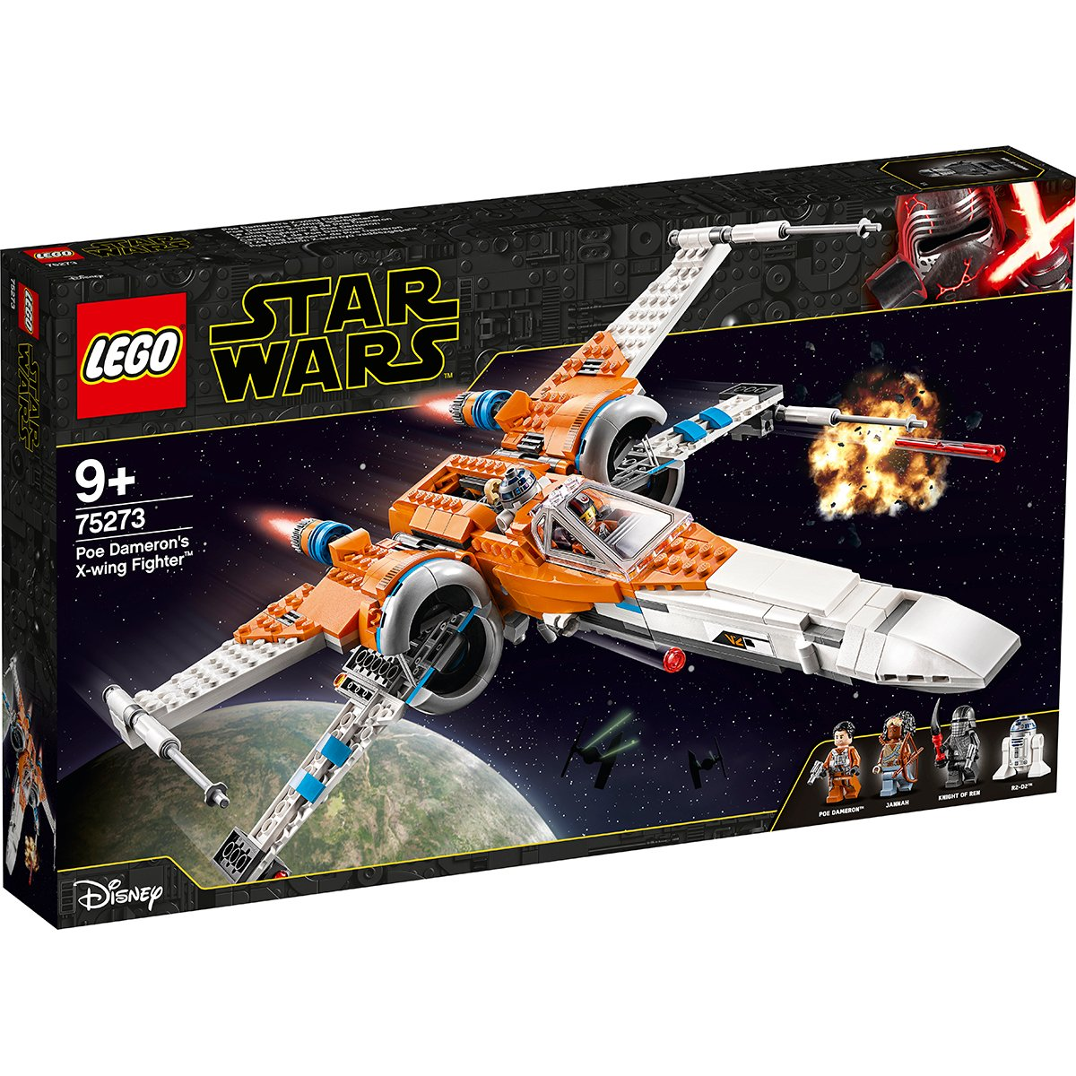LEGO® Star Wars™ - X-Wing Fighter al lui Poe Dameron (75273)