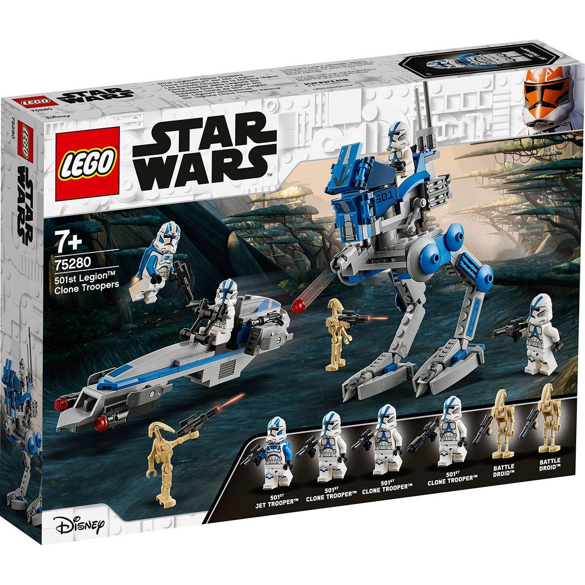 LEGO® Star Wars™ - Clone Troppers din Legiunea 501 (75280)