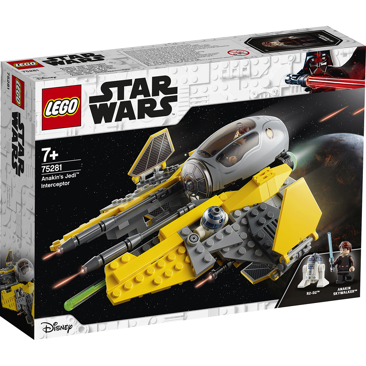 LEGO® Star Wars™ - Interceptorul Jedi a lui Anakin (75281)