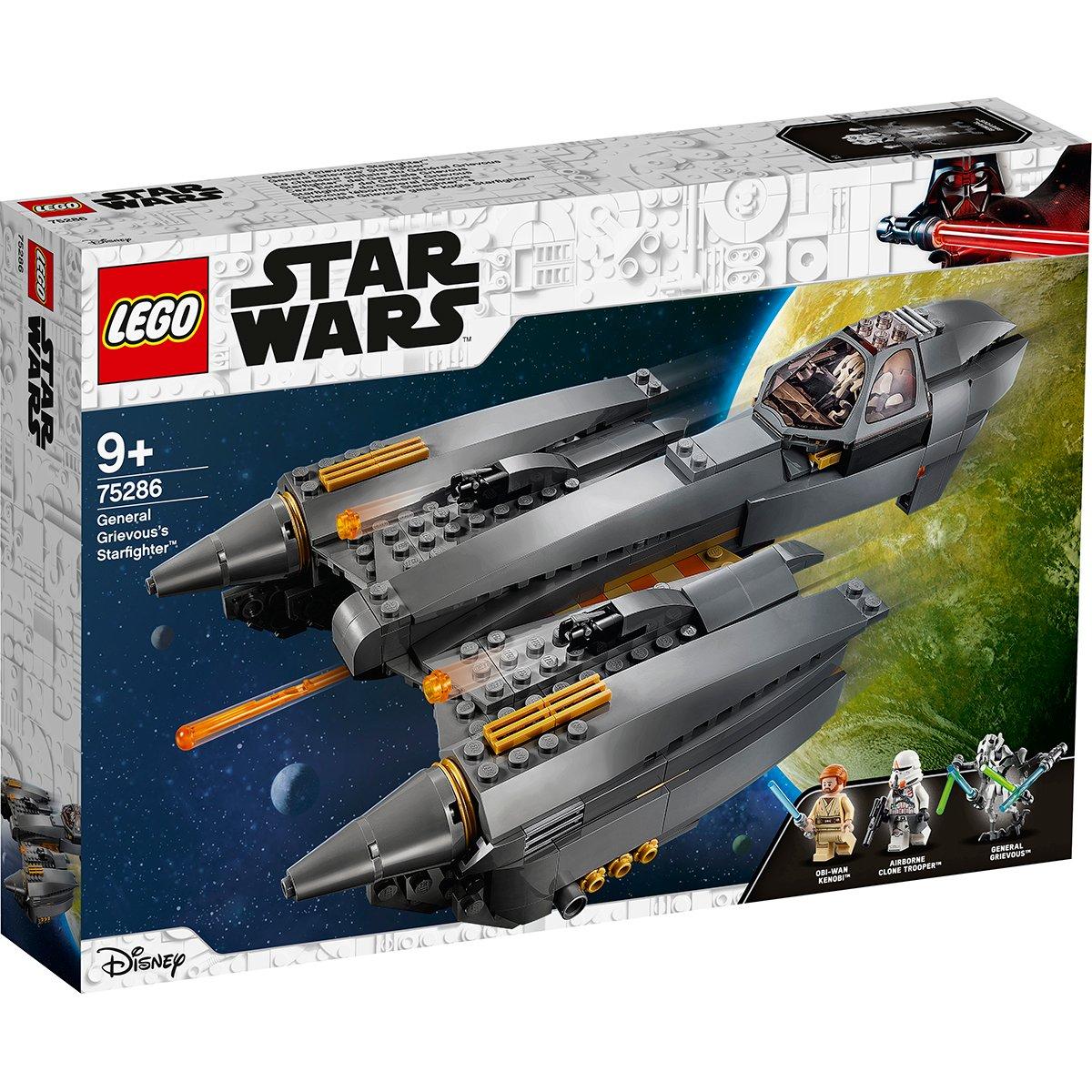 LEGO® Star Wars™ - Starfighter al generalului Grievous (75286)