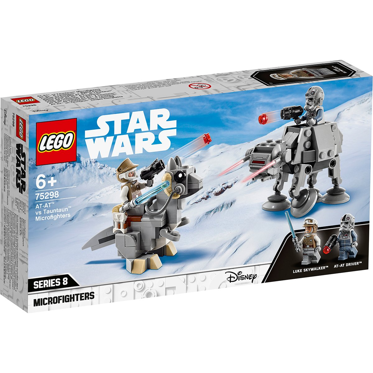 LEGO® Star Wars™ - Micronave de lupta AT-AT contra Tauntaun (75298)