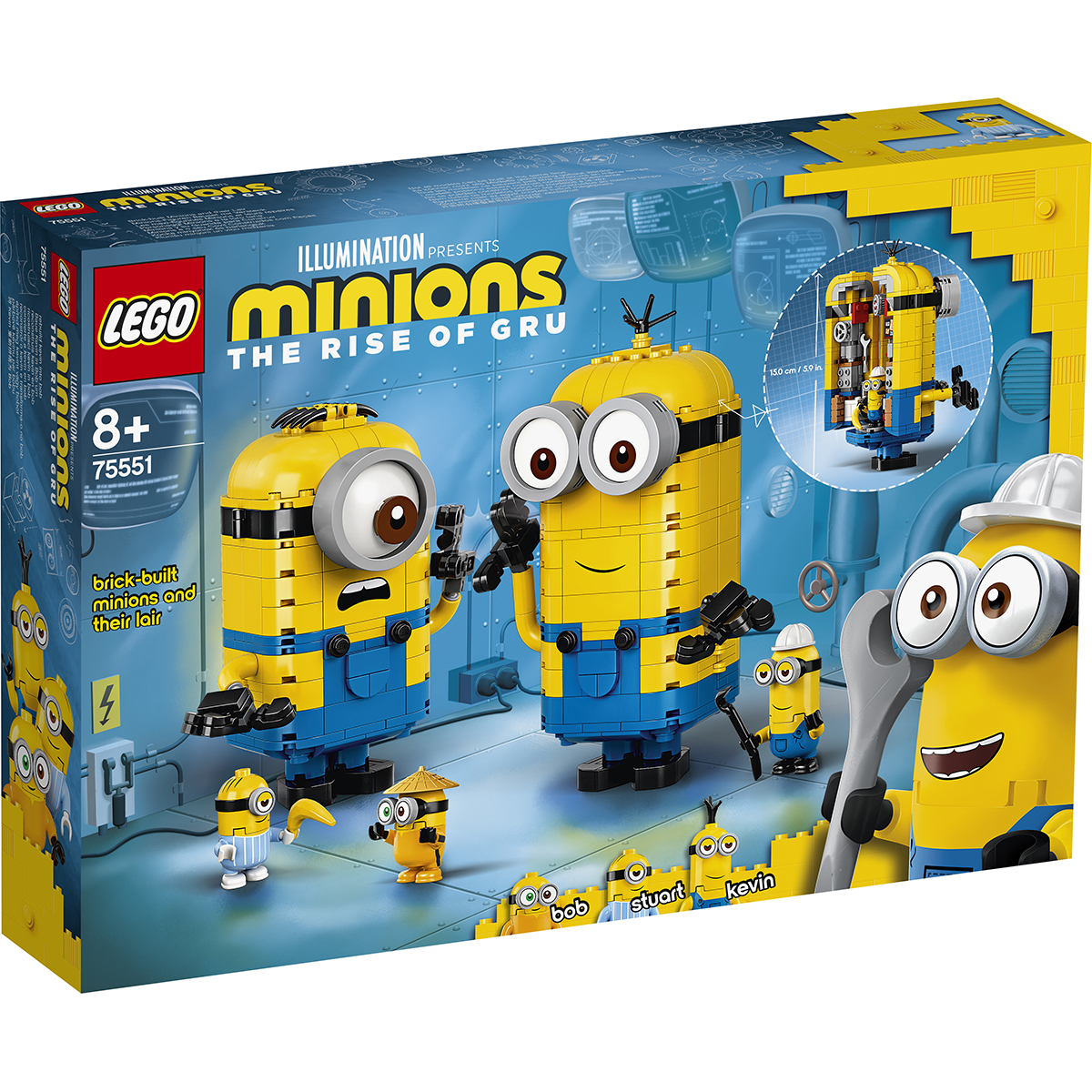 Lego® Minions - Figurine Minioni Din Caramizi (75551)