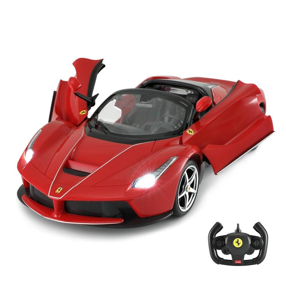 Masinuta cu telecomanda Rastar Ferrari LaFerrari Aperta, 1:14, Rosu
