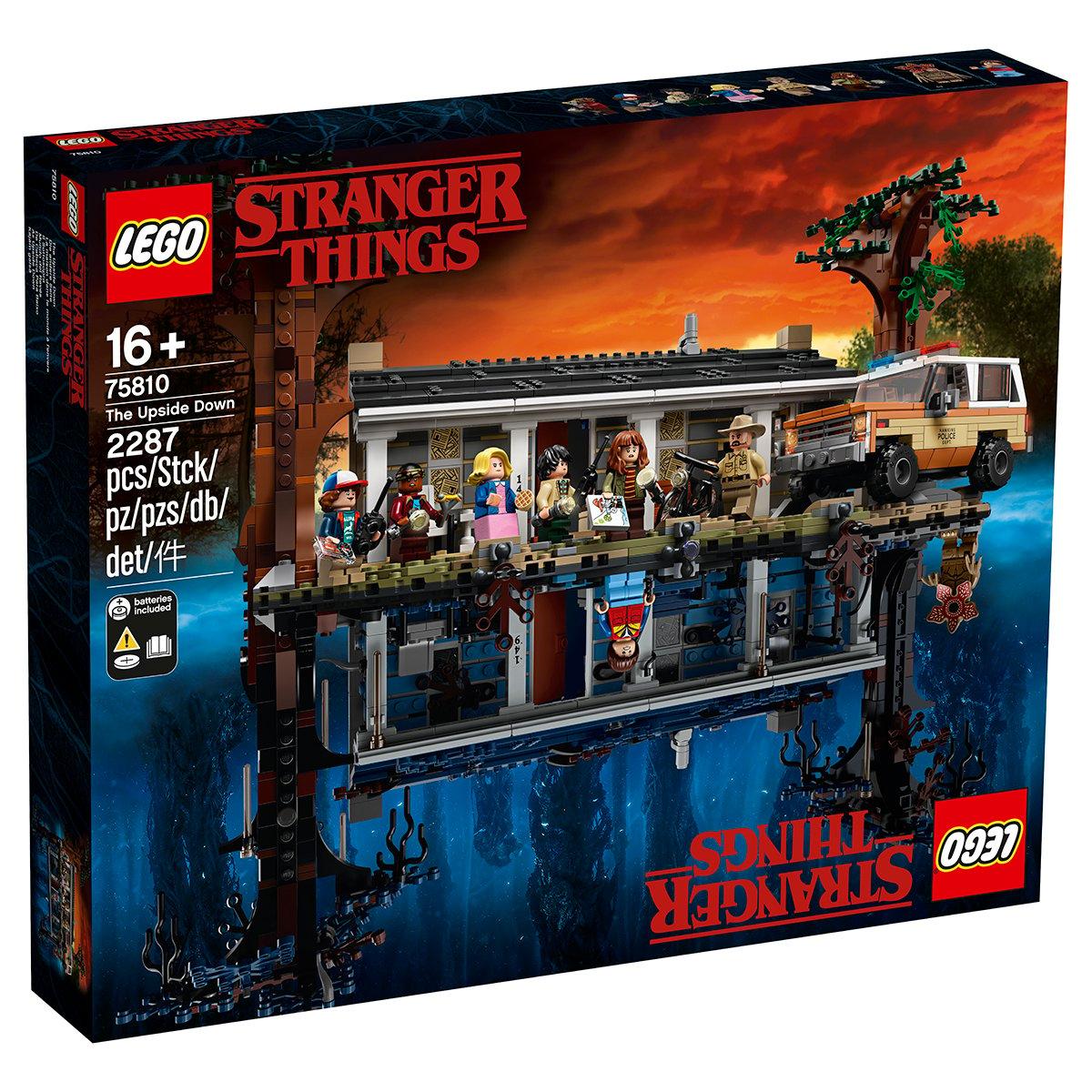 LEGO® Stranger Things - Lumea rasturnata (75810)
