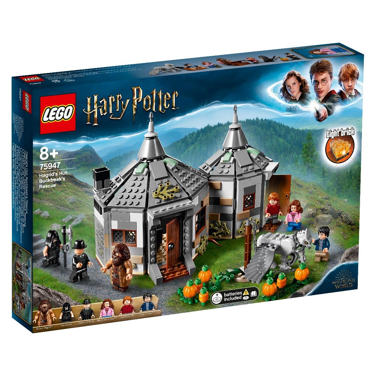 LEGO® Harry Potter™ - Coliba lui Hagrid: Eliberarea lui Buckbeak (75947)
