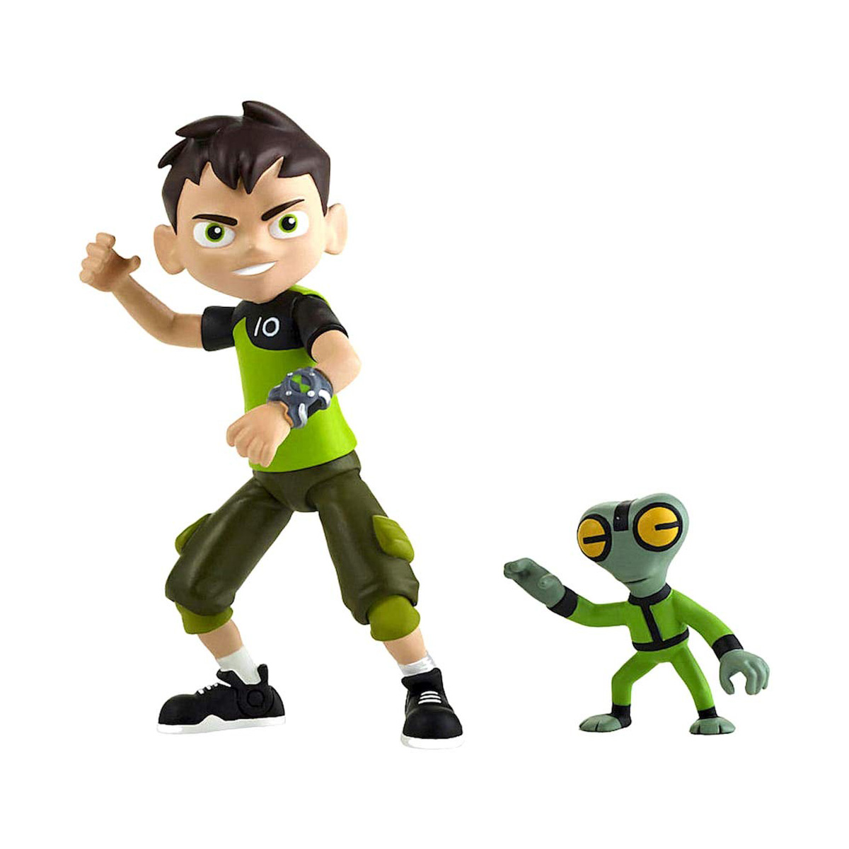 Set Figurine Ben 10 - Ben Tennyson si Grey Matter