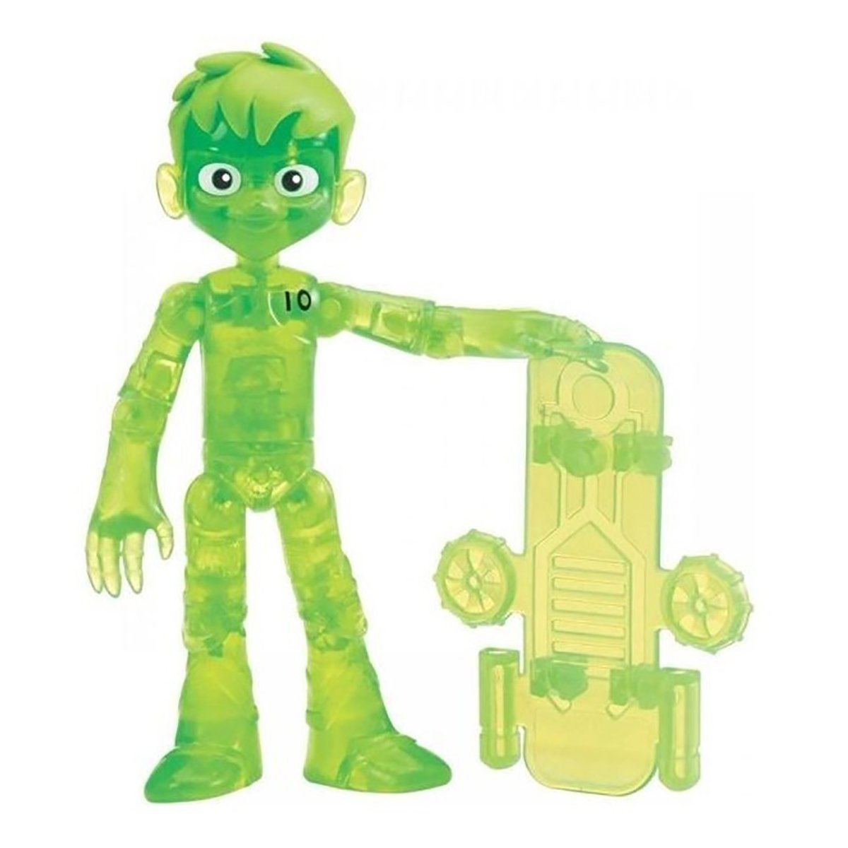 Figurina Ben 10 Out of the Omnitrix, Glitch Ben, 76158, 12 cm