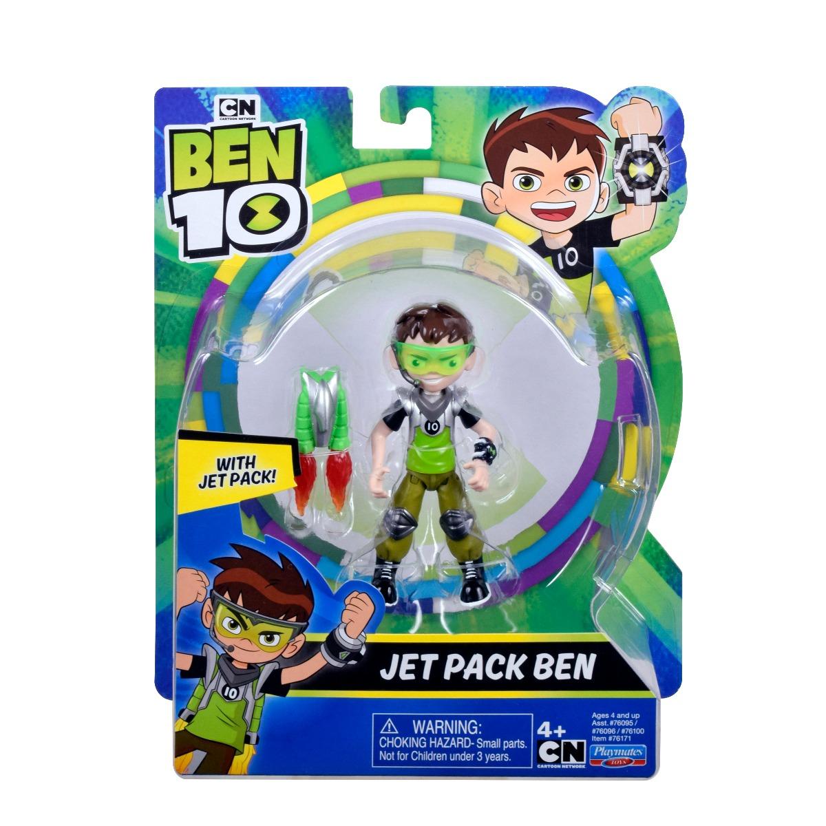 Figurina Ben 10, Jet Pack Ben, 12 cm, 76171