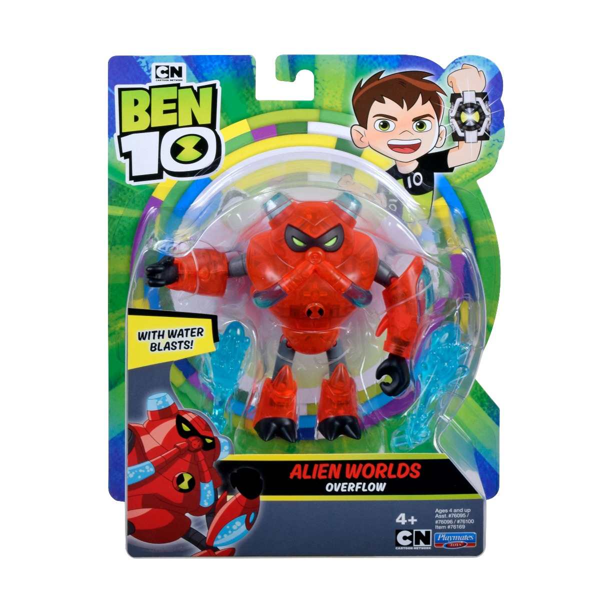 Figurina Ben 10, Alien Worlds, Overflow, 12 cm, 76169