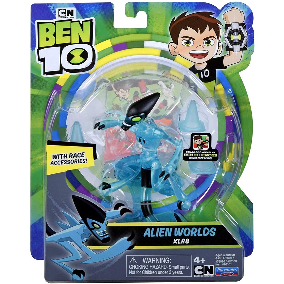 Figurina Ben 10 Alien Worlds, XLR8, 12 cm, 76161