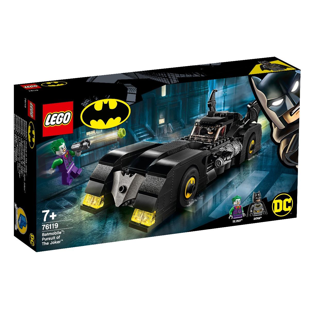 LEGO® DC Comics Super Heroes - Batmobile™ Urmarirea lui Joker™ (76119)