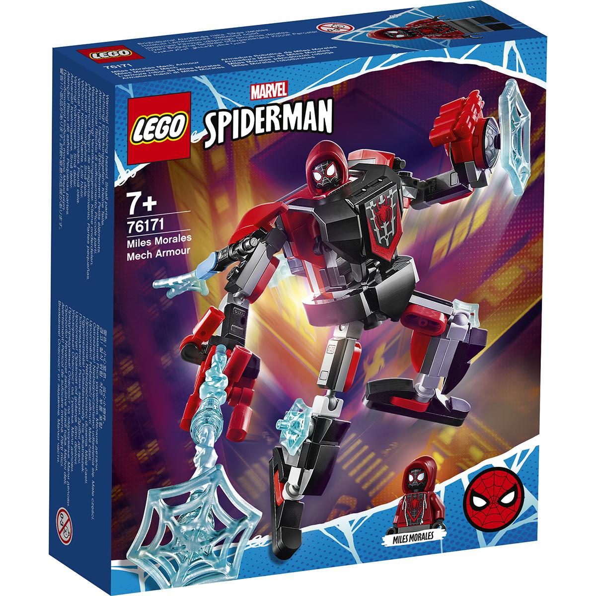 LEGO® Marvel Super Heroes - Armura robotului Miles Morales (76171)