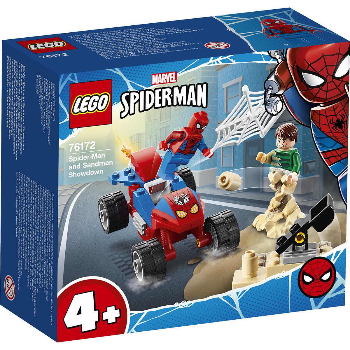 LEGO® Marvel Super Heroes - Confruntarea dintre Omul paianjan si Sandman (76172)
