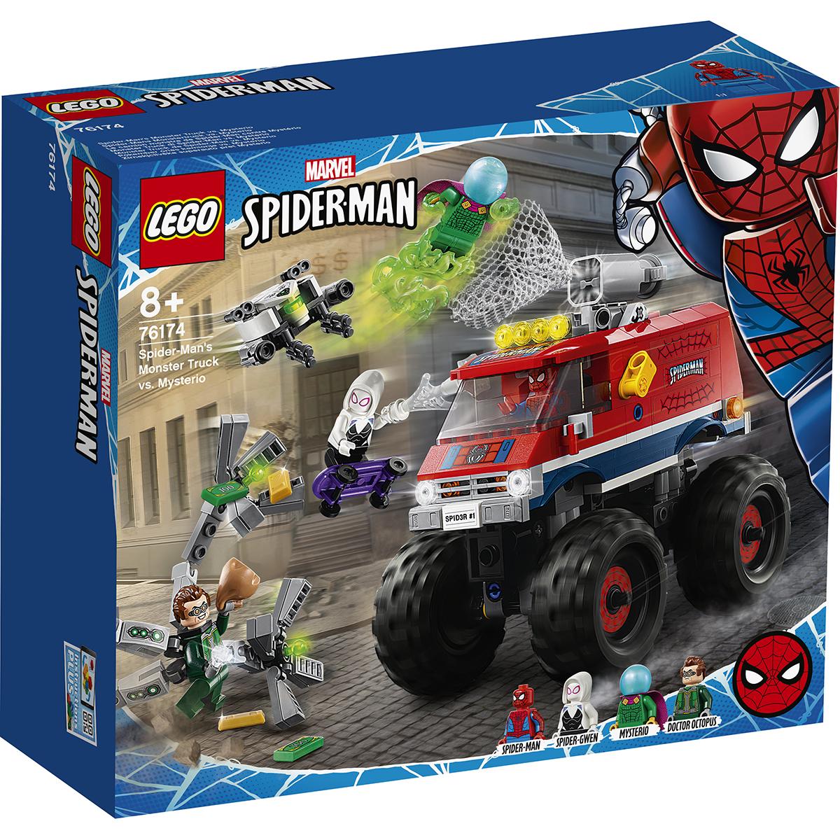 LEGO® Marvel Super Heroes - Camionul gigant al Omului paianjen contra Mysterio (76174)
