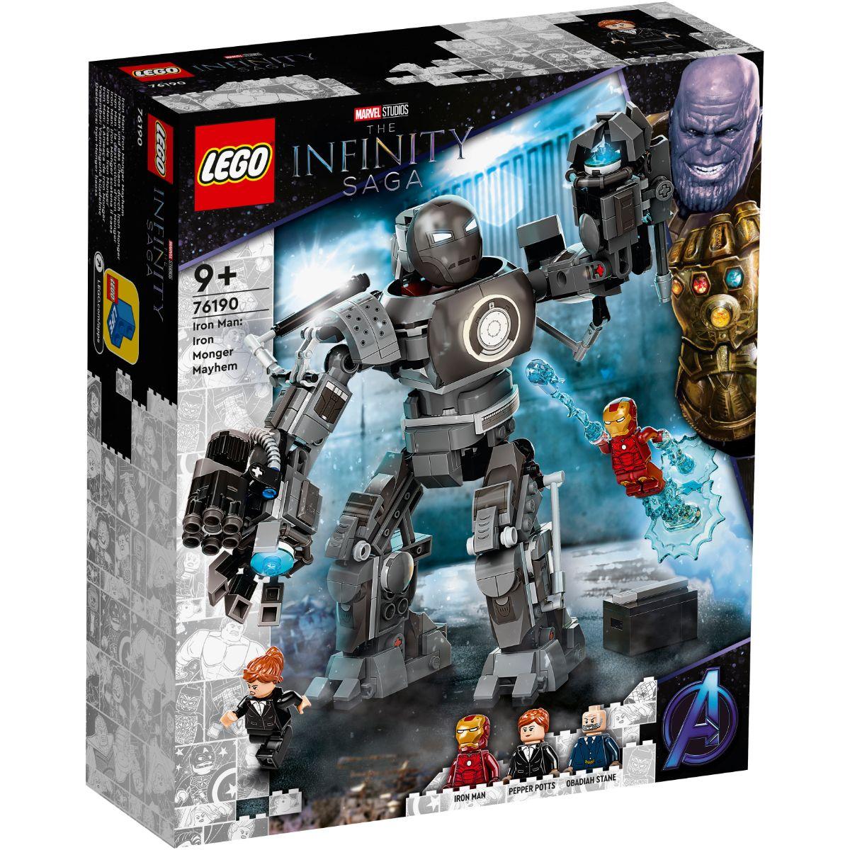 LEGO® Super Heroes - Iron Man: Iron Monger Mayhem (76190)