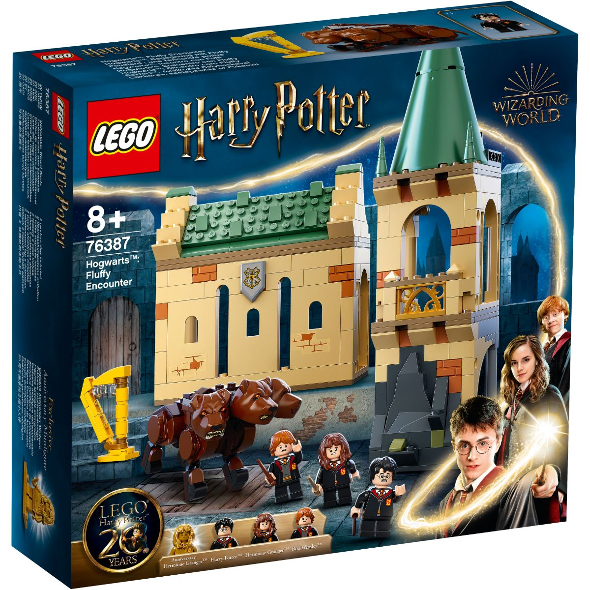 LEGO® Harry Potter - Hogwarts Intalnirea cu Fluffy (76387)