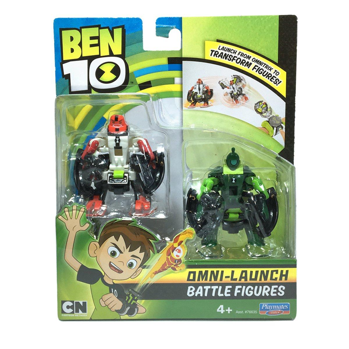 Set figurine Ben 10 - Patru Brate si Lujerul