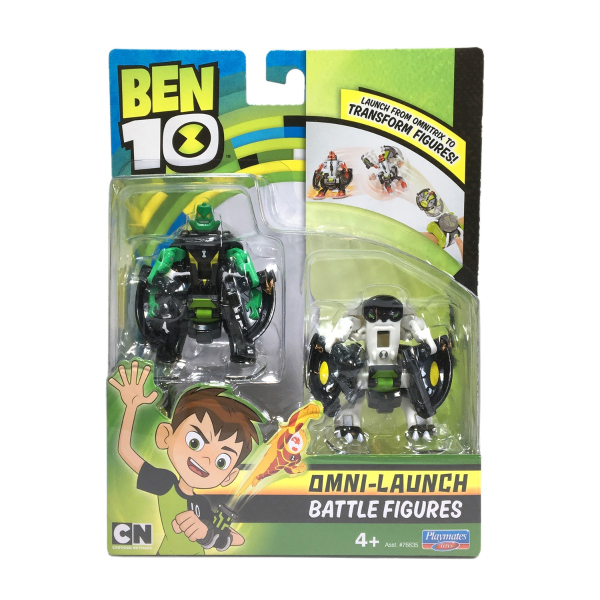 Set figurine Ben 10 - Cap de Diamant si Cannonbolt imagine 2021