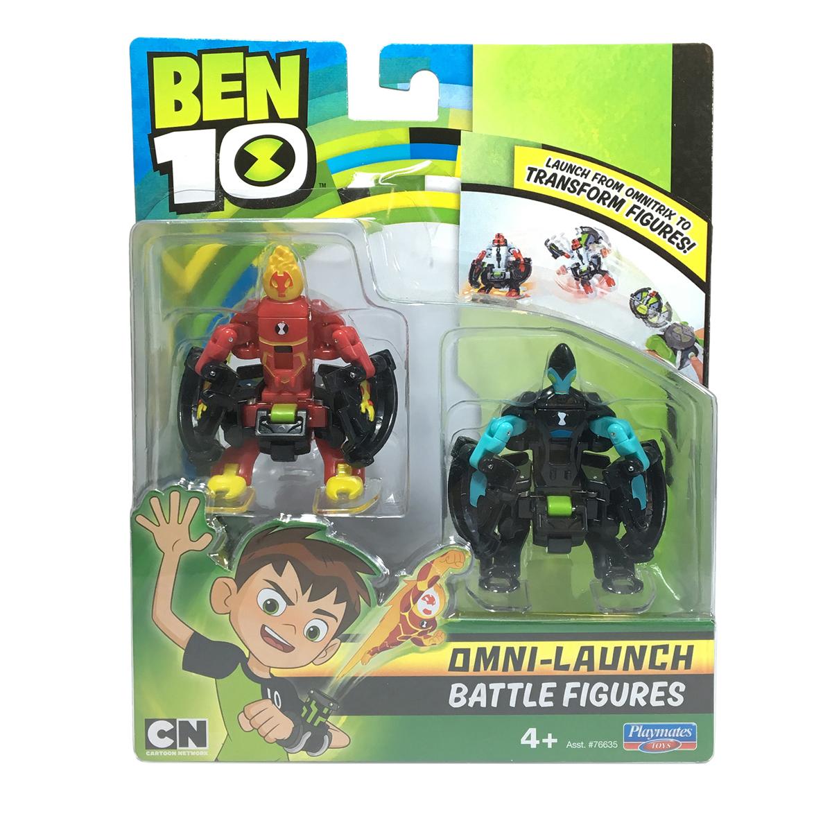 Set figurine Ben 10 - Torta Vie si XLR8