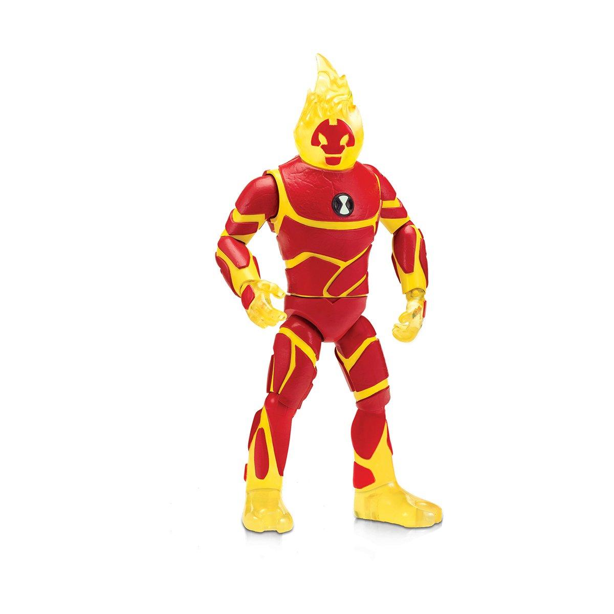 Figurina Ben 10 Giant - Heatblast (76651)