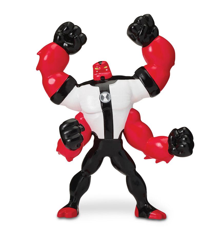 Minifigurina Ben 10, Four Arms