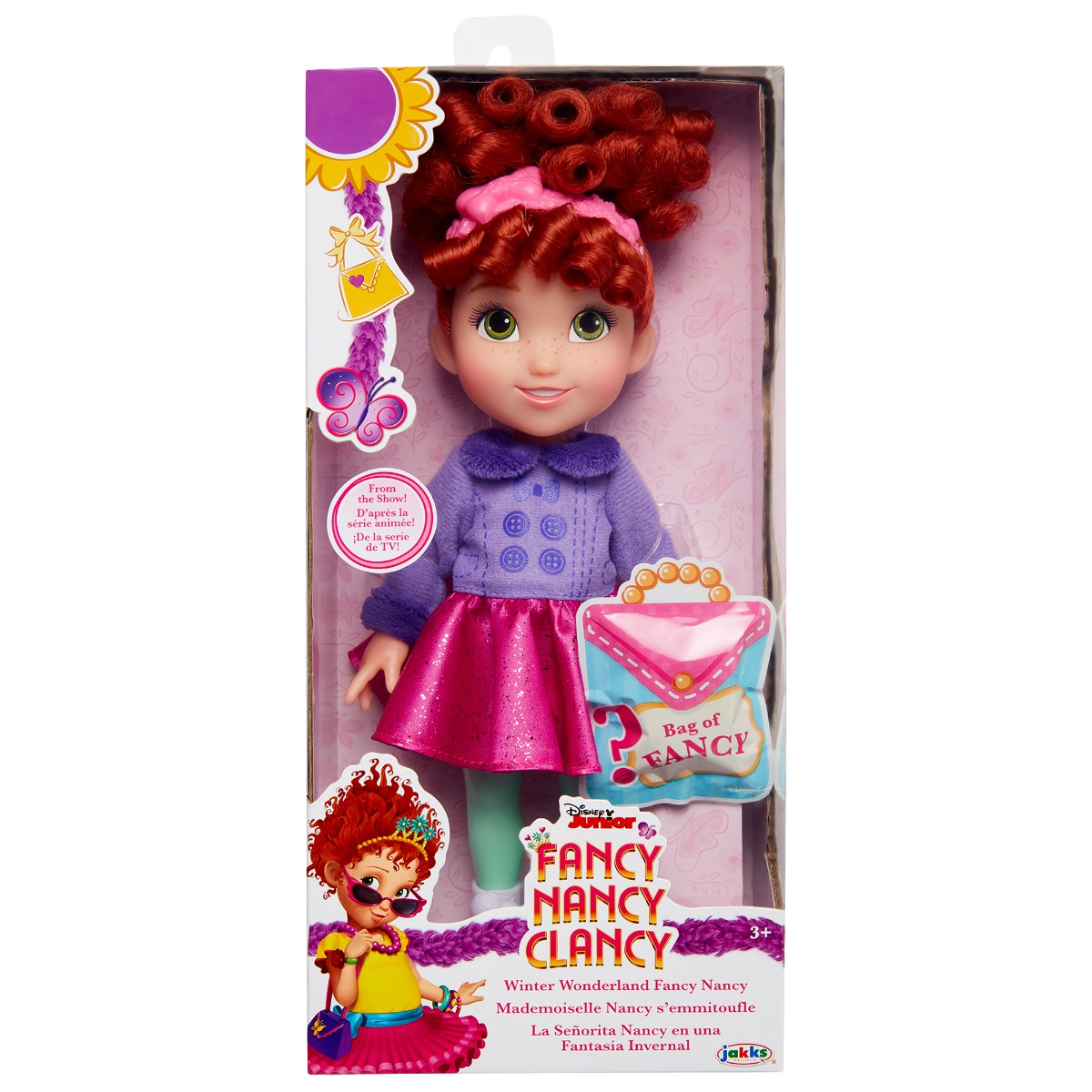 Papusa Fancy Nancy Clancy, Winter Wonderland, 25 cm