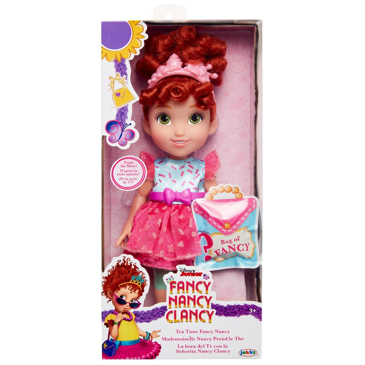Papusa Fancy Nancy Clancy, Tea Time, 25 cm