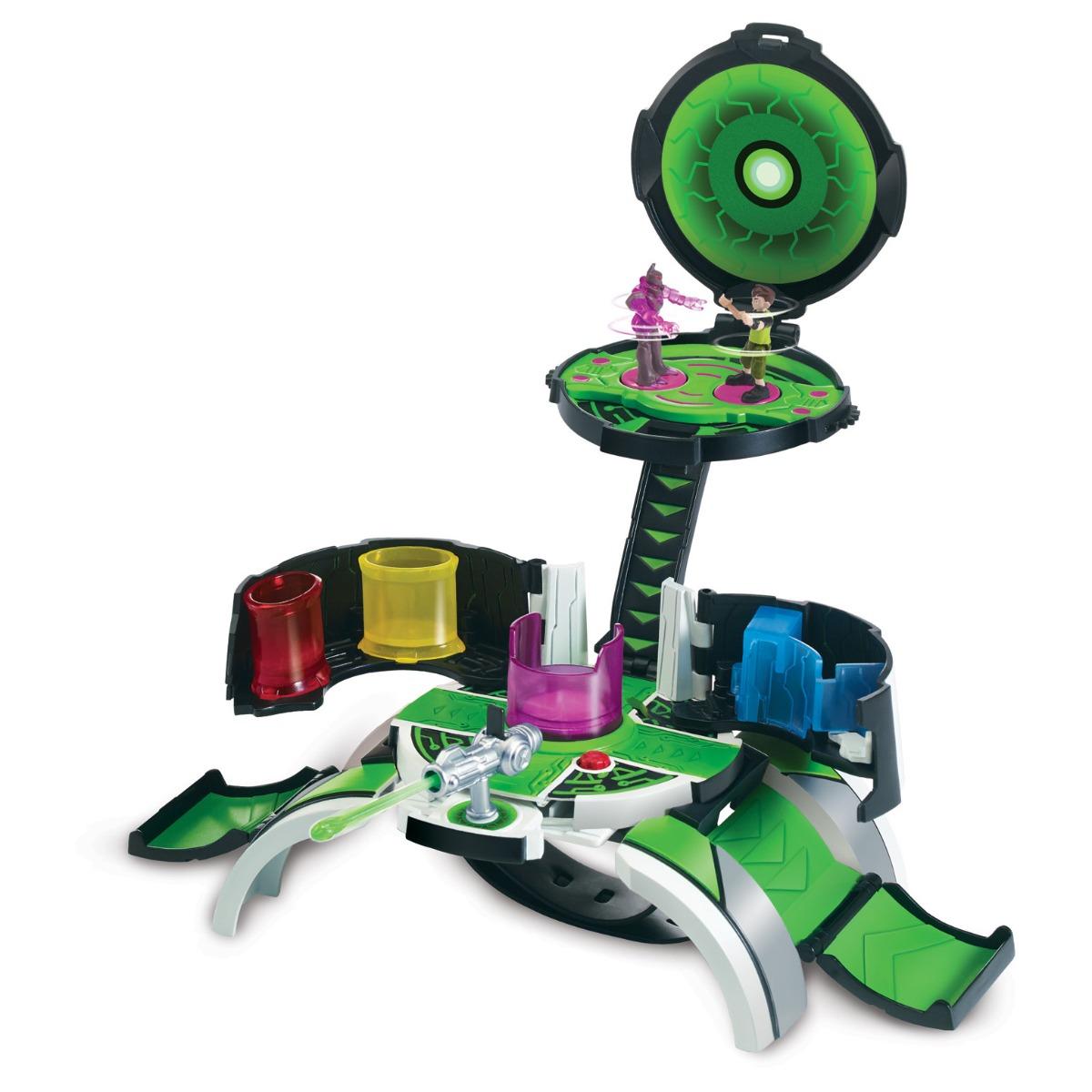 Set de joaca cu 2 minifigurine Micro World Omnitrix Ben 10, 77723 imagine