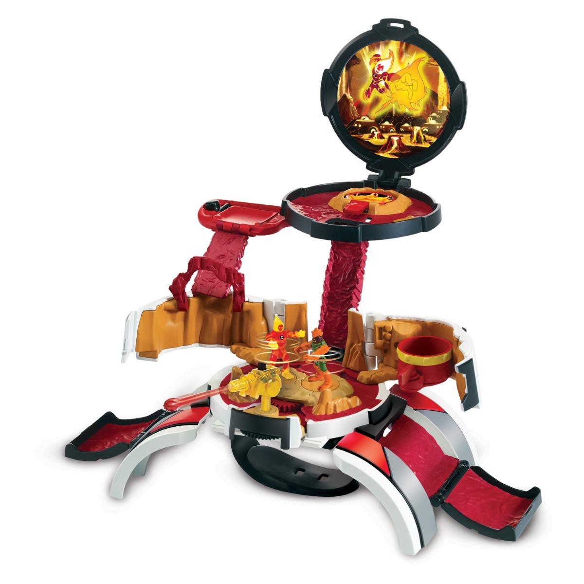 Set de joaca cu 2 minifigurine Micro World Omnitrix Ben 10, Torta Vie, 77721