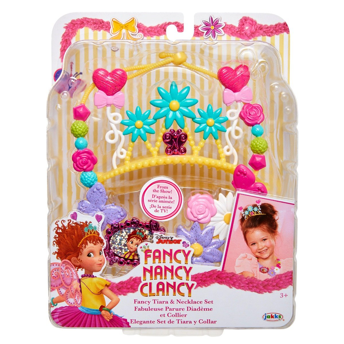 Set diadema si colier Fancy Nancy Clancy