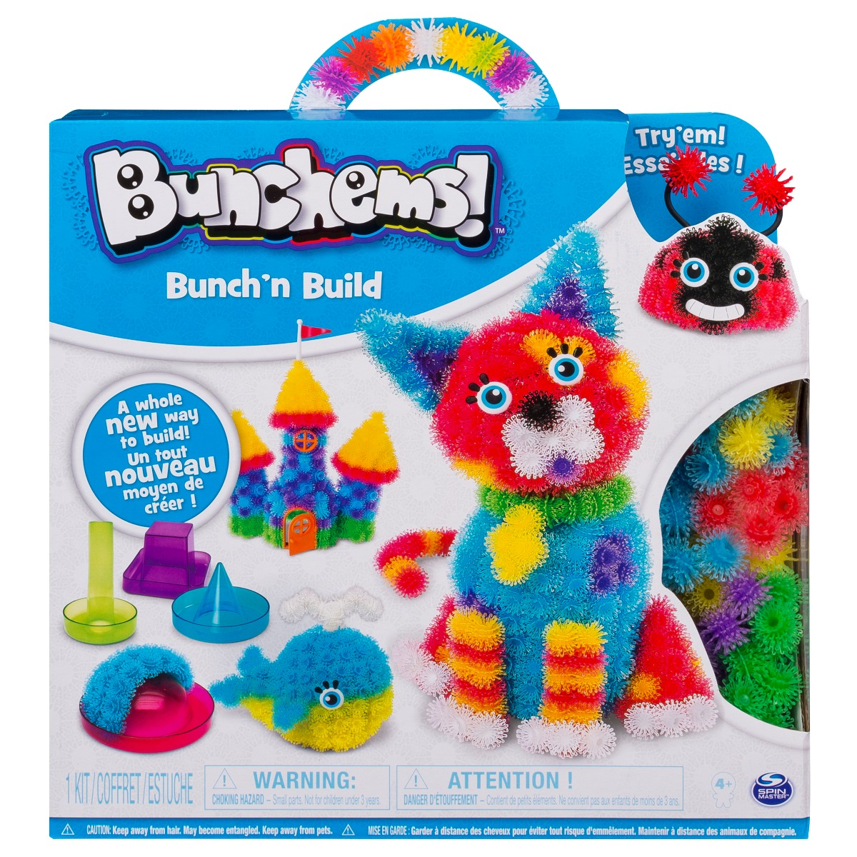 Set de creatie cu forme Bunchems
