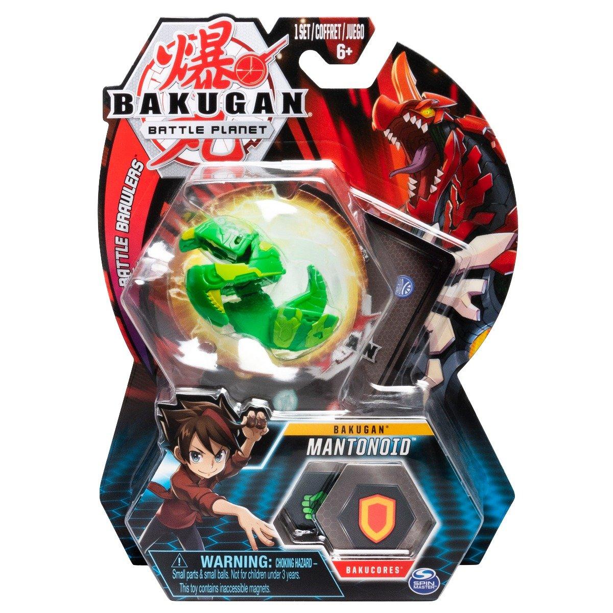Figurina Bakugan Battle Planet, Mantis Green, 20107948