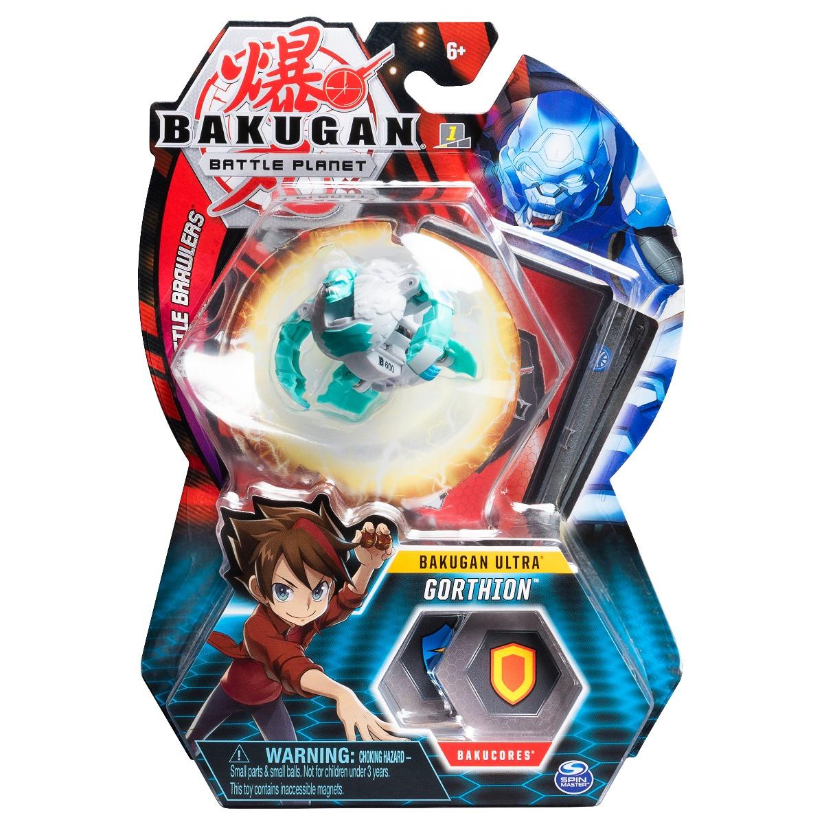 Figurina Bakugan Ultra Battle Planet, Gorilla White, 20107970