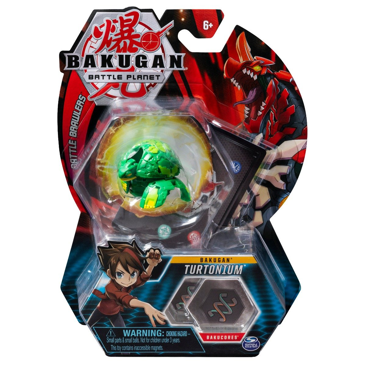 Figurina Bakugan Battle Planet, 9C Archelon Green, 20113143