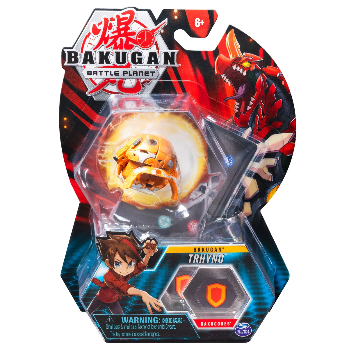 Figurina Bakugan Battle Planet, Trhyno, 20115045