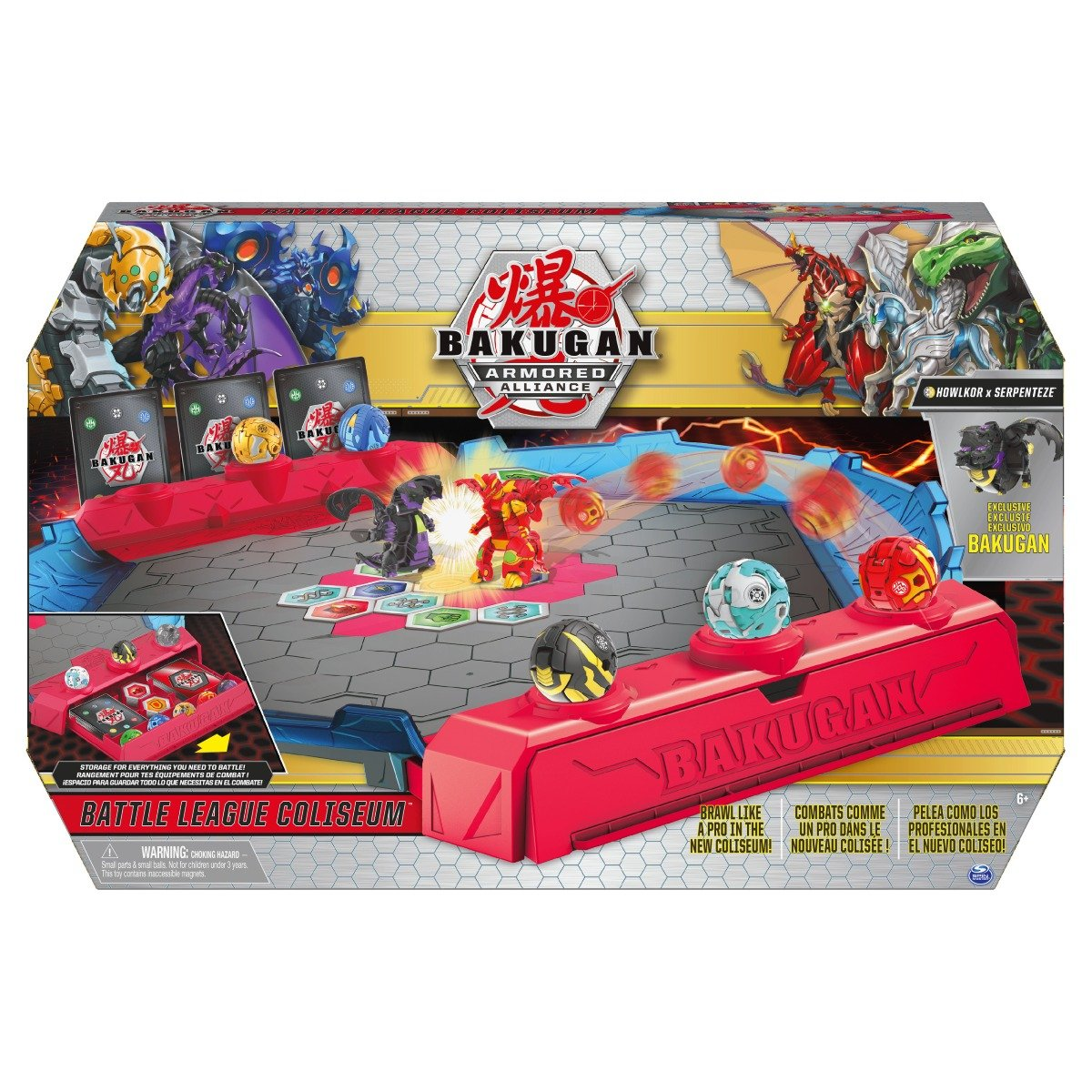 Arena de lupta Bakugan Armored Alliance, Battle League Coliseum