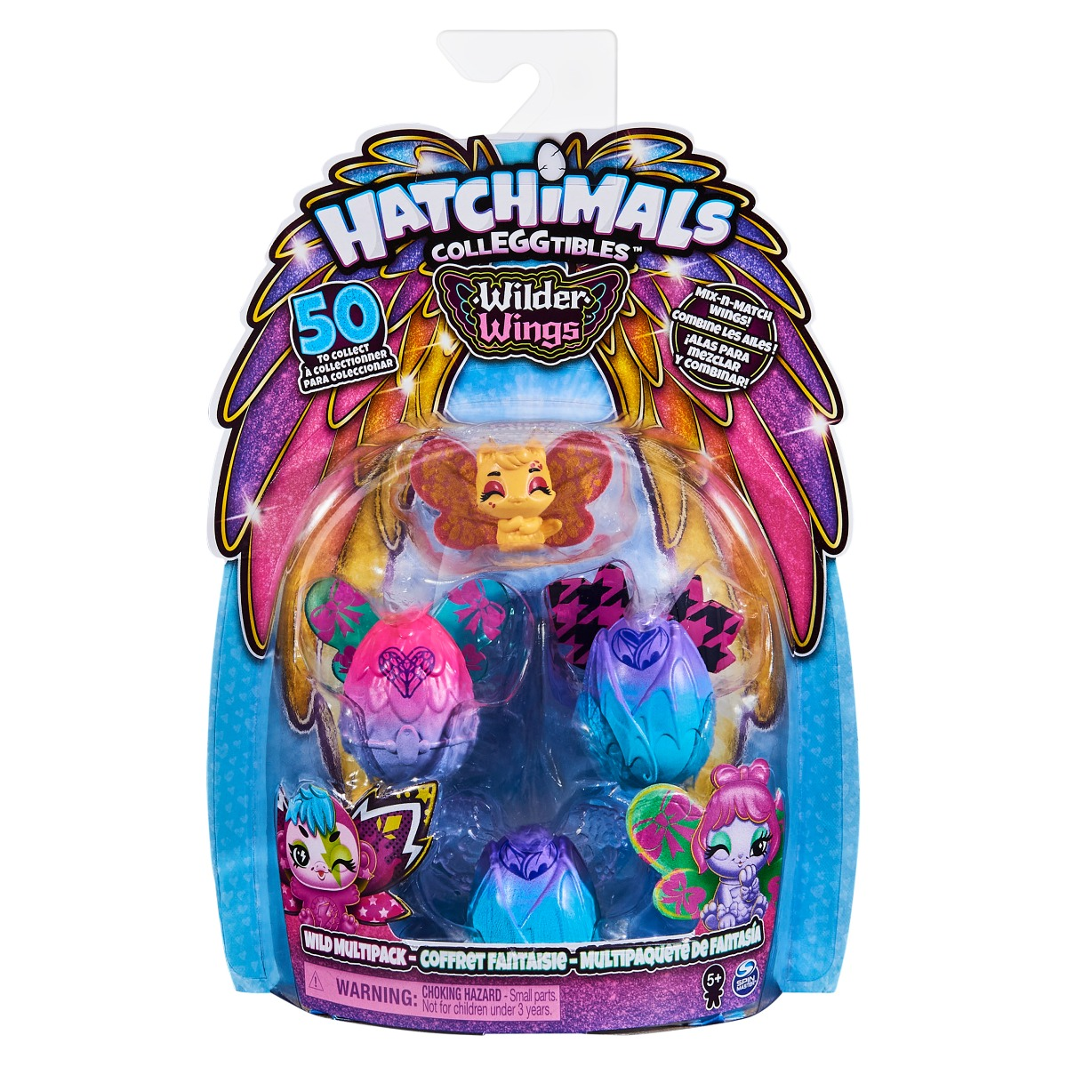 Figurine surpriza Hatchimals Wilder Wings Mix-n Match