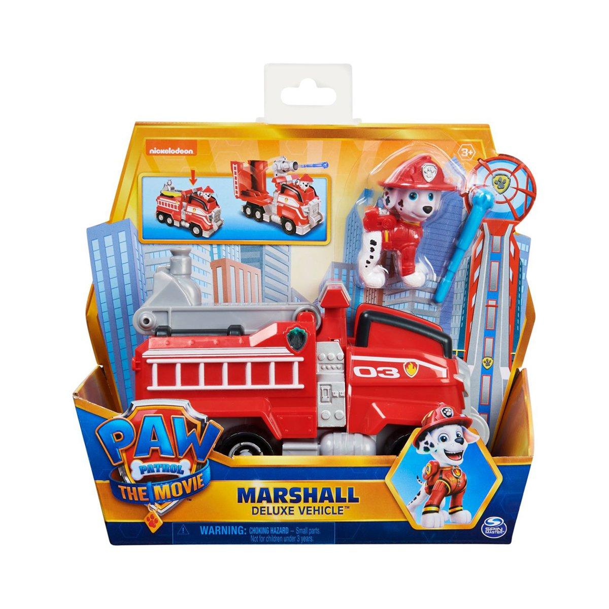 Jucarie interactiva, Paw Patrol, masina de pompieri