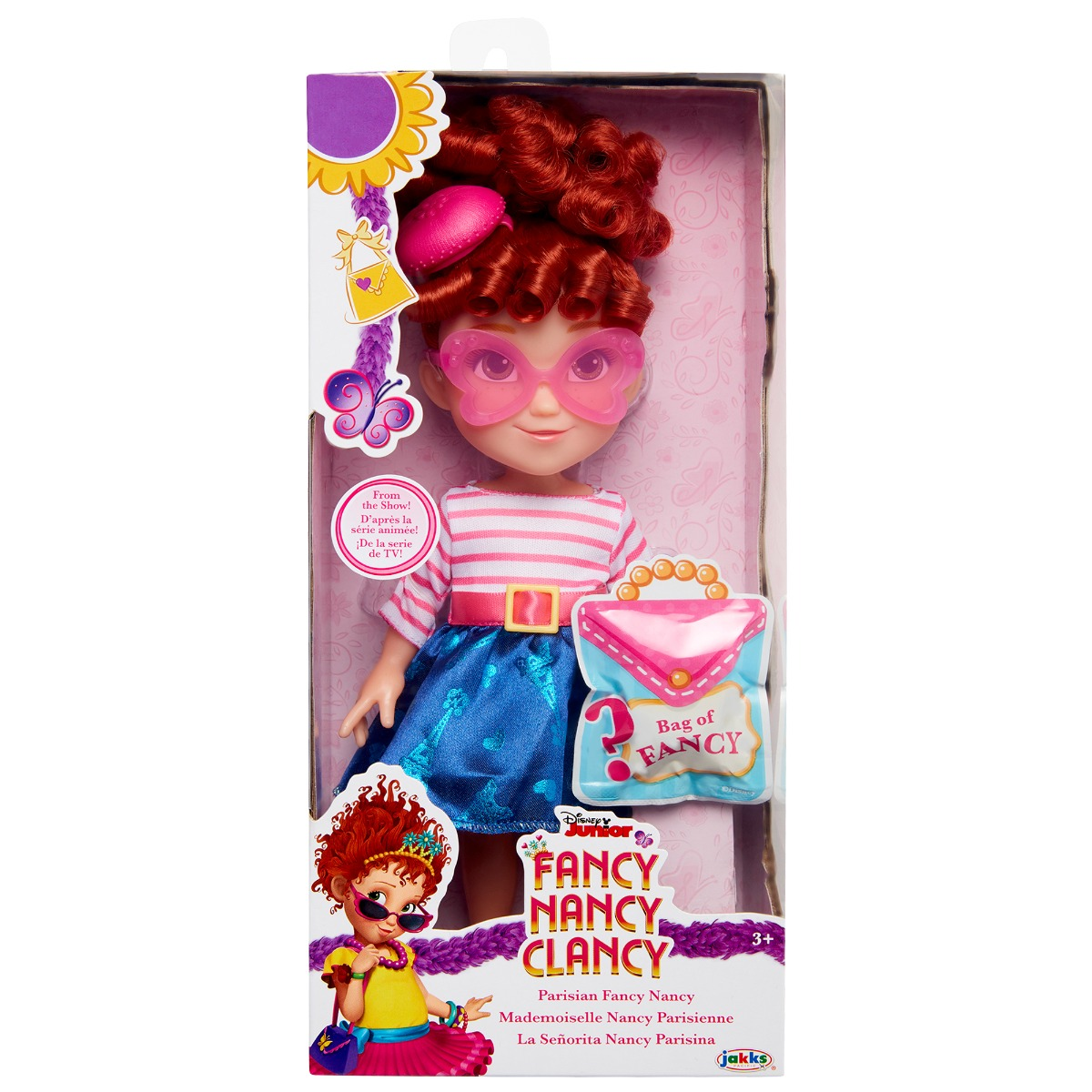 Papusa Fancy Nancy Clancy, Parisian Fashion, 25 cm
