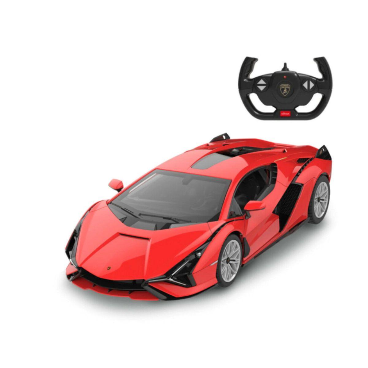 Masinuta cu telecomanda, Rastar, Lamborghini Sian, 1:14