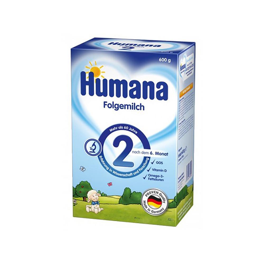 Lapte praf Humana 2 GOS, 600 g, 6 luni+ imagine