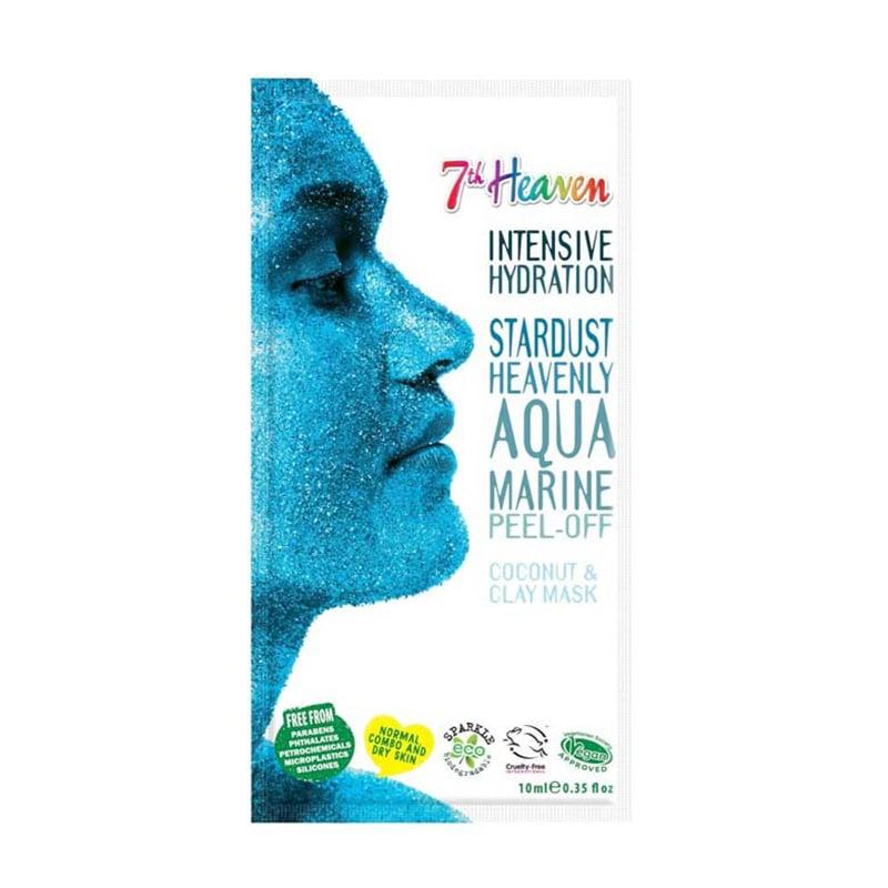Masca de fata purificatoare 7th Heaven aqua marine Peel-off, 15 ml imagine