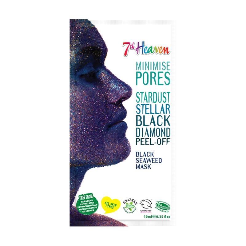 Masca de fata purificatoare 7th Heaven Black diamond Peel-off, 15 ml imagine